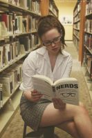 Library Photo Shoot 2 by fairiegrl
