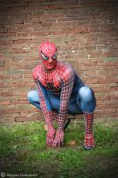 Perfect Spiderman Costume by Leox90
