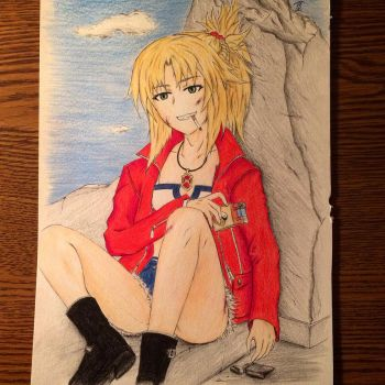 Mordred Pendragon (Casual) by BrettSYR