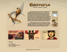Biowebsite design by jrtracey
