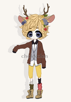 CUSTOM ADOPT - DEER BOY by chokkolen-kun
