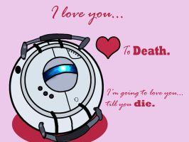 Valentine's Day Wheatley by JuliaGibsonArt
