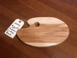 Hickory Cutting Board Palette by Lupas-Deva
