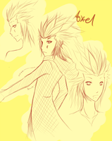 axel doodles by shugotenshii