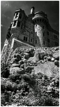 St Michael's Mount by struckdumb