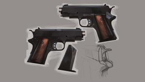 Pocket m1911 concept by joungster009
