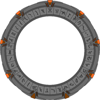 Stargate Work in Progress by JohnnyMuffintop