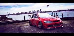 Lancer EVO 8 by SkicaDesign