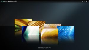 ISMO PSP Wallpaper Set by Bobbyperux