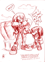 Knuckles Generations by kaiserkleylson