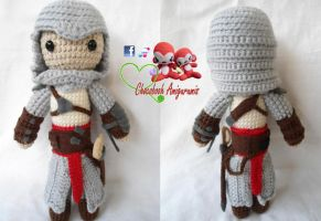 Altair Amigurumi (Assassin's Creed) by franfalla