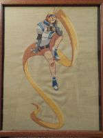Millia Rage Cross Stitch by ThePensivePrince