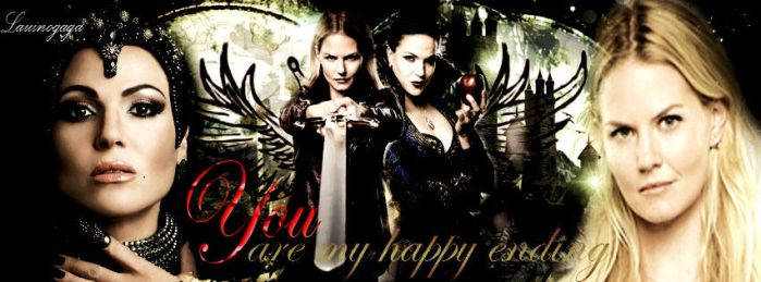 You are my happy ending... SwanQueen by Lauinogaga