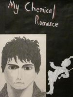 Painting/Drawing (Portrait of Gerard Way) by AnnabellLee666