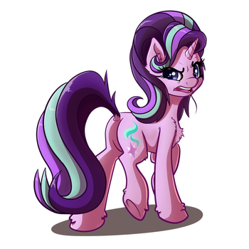 Starlight Glimmer Horse by WitchTaunter