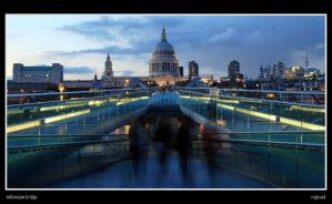 Millennium Bridge by Rajmund67