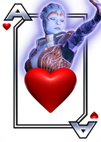 Samara - Ace Of Hearts by NoAng3l