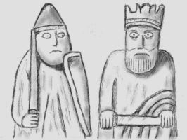 Lewis Chessmen by VATalbot
