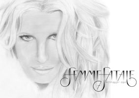 She Is The Femme Fatale by ColourCrayon