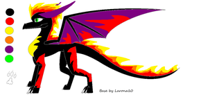 Briar Eternal Flame form by QuestionTheDragon