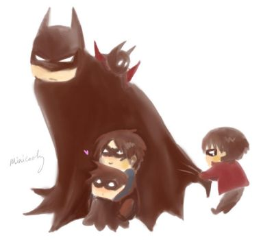 chibi family by minicooly