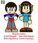 Brigade Leaders by J5theHyperforce