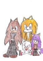 One happy family .:Colored:. by ShadsEclipse