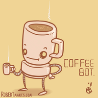 Coffee Bot by RobertMakes