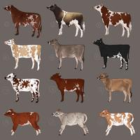 Dairy Designs 1 - Free To Claim - All Gone! by tea-time-is-my-time
