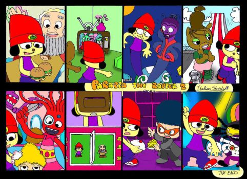 Parappa the Rapper 2 story by ItalianShorty