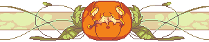 [ GIF ] Halloween Divider by pompon-chan