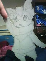 Furry Paperchild by onlineworms