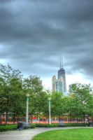 Hancock Center and Seward Park by spudart