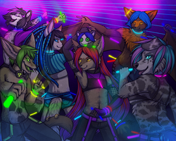 Furry rave! by Neko-Maya
