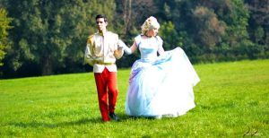 Cinderella and Prince by FrancescaMisa