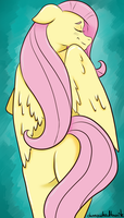 Fluttershy by Dunnowhattowrite