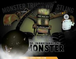 Dr-Frankenwagons-Monster by GovectorZ