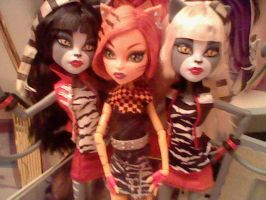 Purrsephone, Toralei, and Meowlody by Nileen-Spaniel