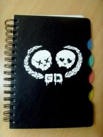 Notebook cover design by KilljoyDay