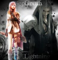 Lightning_Sephiroth by kairimiao13