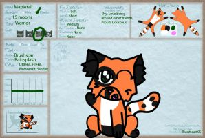 Mapletail ref by Riverheart95