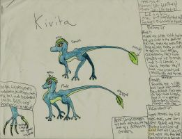 Kivita Species Reference (Somewhat Old. x. x' ) by ShadowhawkArt