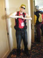 Duke Nukem Cosplay by SparksMcGhee