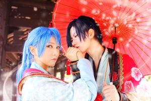 DRAMAtical Murder - Koujaku by calix00