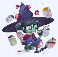 Ruth Baer - The Toy Witch. by El-Wolfgang