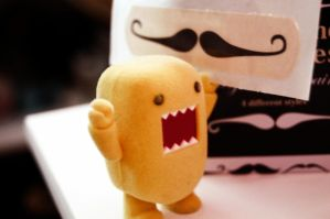 Domo gotta Mooosestach by OliviaNooblets