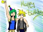 Happy Birthday Isaac by Ask-Piers