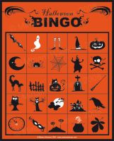 Halloween Bingo by ginee