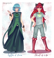 Sylph and Thief by SunnyVaiprion