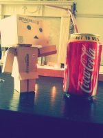 Danbo Cola by explosionoftheheart